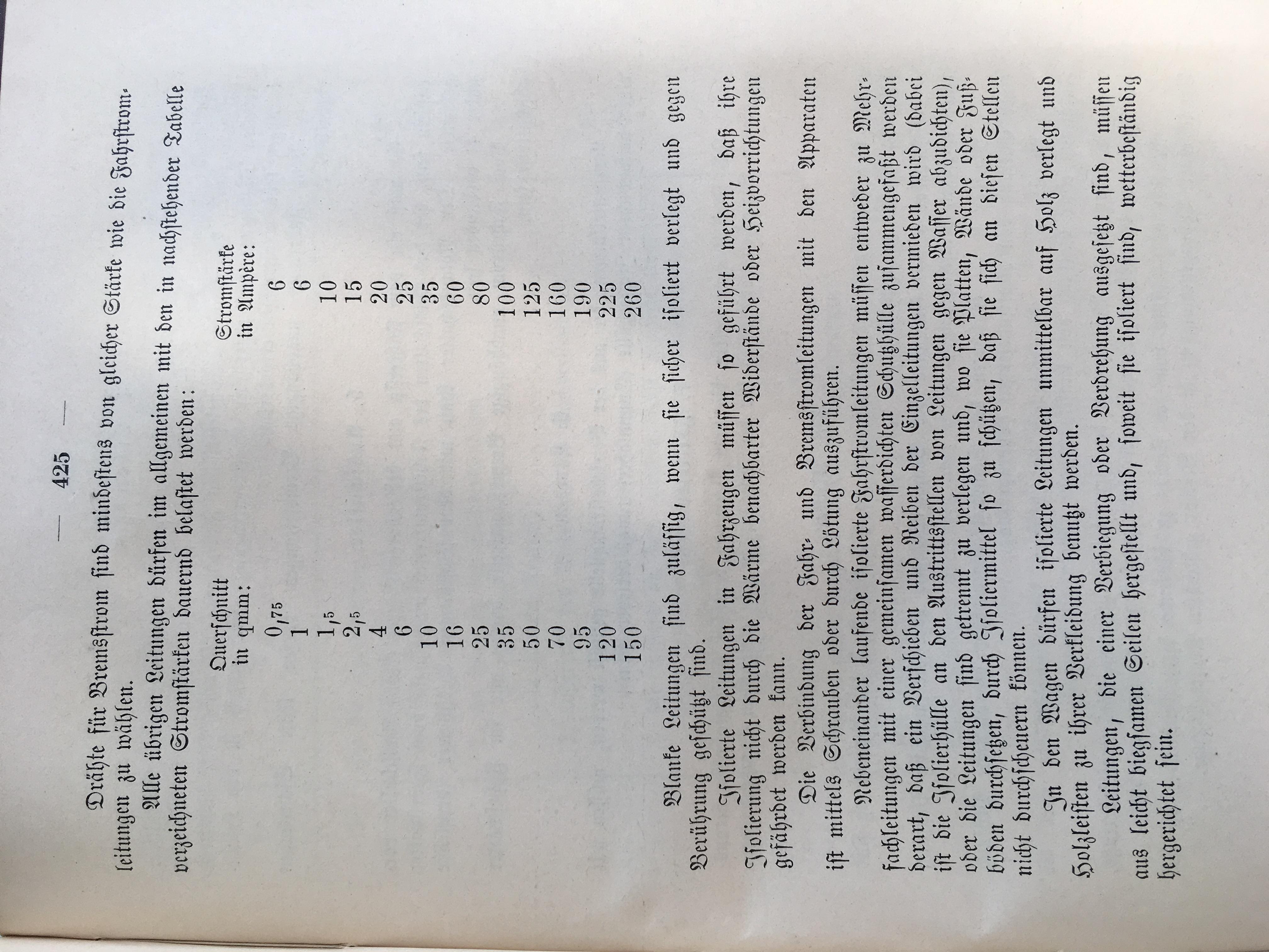 Vorschriften für elektrisch betriebene Kraftfahrzeuge (1910) • TFF ...